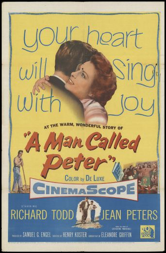 A Man Called Peter Poster