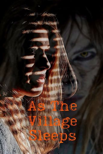 As the Village Sleeps Poster