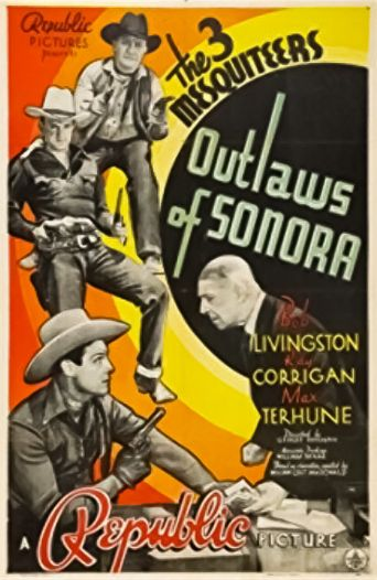 Outlaws of Sonora Poster