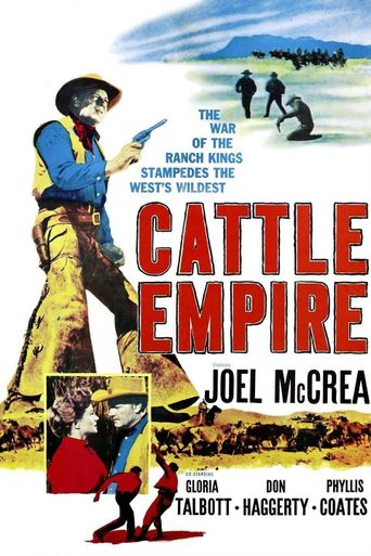 Cattle Empire Poster