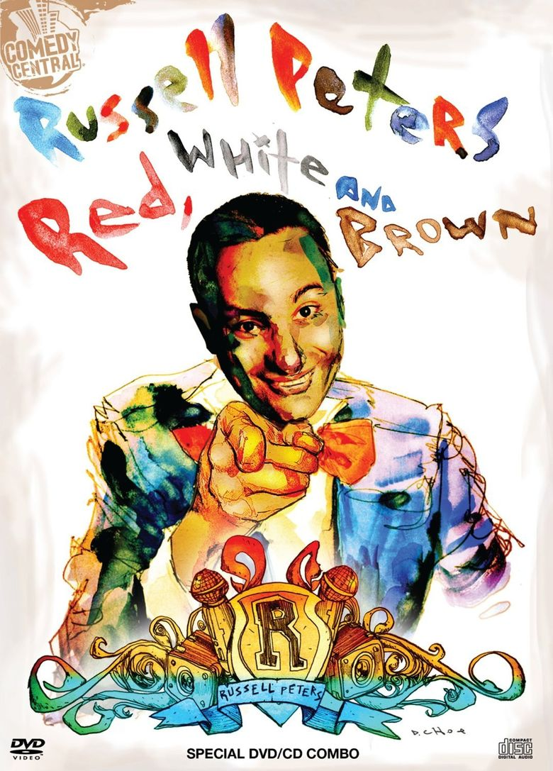 Russell Peters: Red, White and Brown Poster