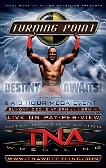 TNA Turning Point 2004 Poster