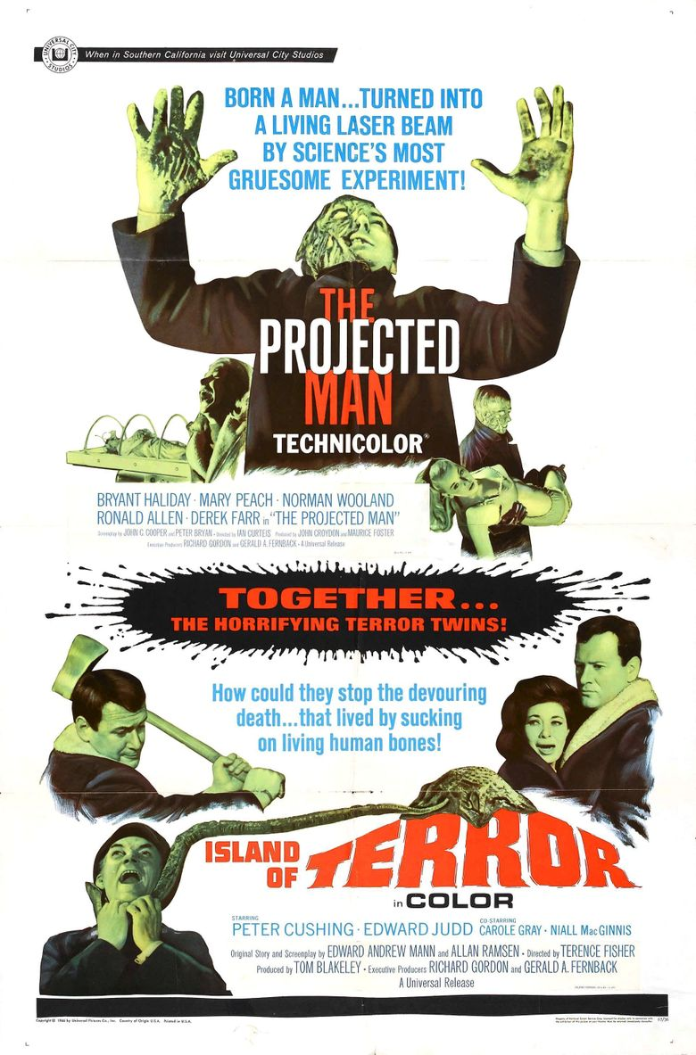 The Projected Man Poster