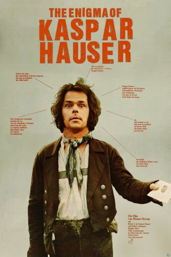 The Enigma of Kaspar Hauser Poster