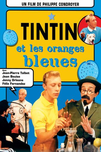 Tintin and the Blue Oranges Poster