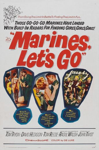 Marines, Let's Go Poster