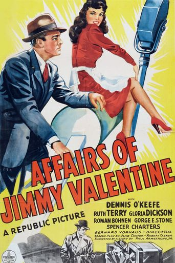 The Affairs of Jimmy Valentine Poster