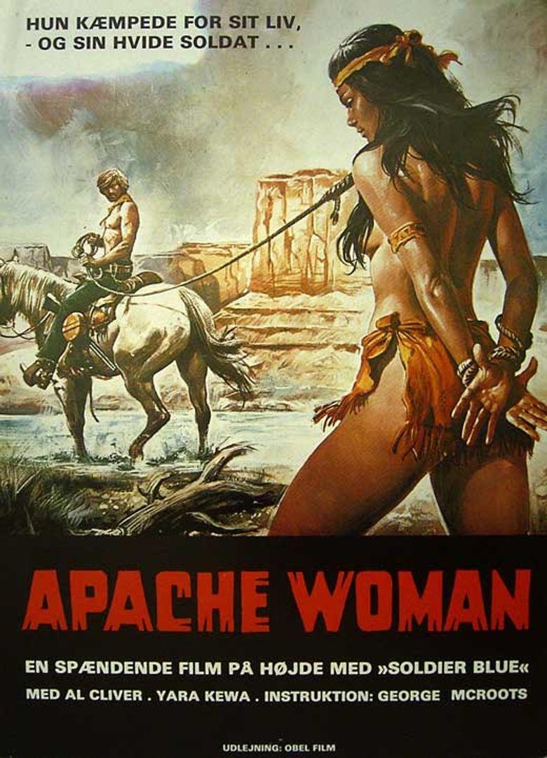 Apache Woman Poster