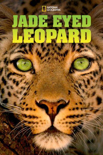 Jade Eyed Leopard Poster