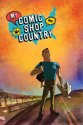 My Comic Shop Country Poster