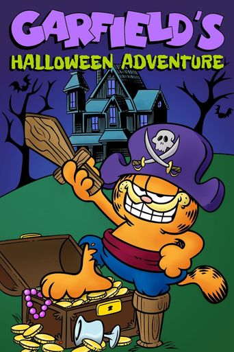 Garfield's Halloween Adventure Poster