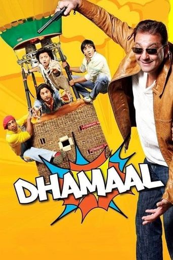 Dhamaal Poster