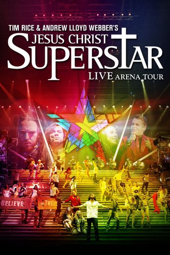 Jesus Christ Superstar - Live Arena Tour Poster
