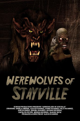 Werewolves of Stayville Poster