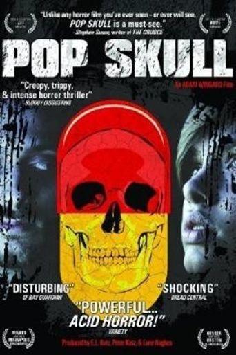 Pop Skull Poster