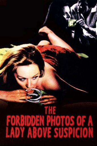 The Forbidden Photos of a Lady Above Suspicion Poster