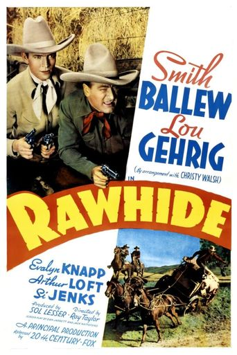 Rawhide Poster
