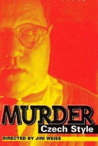 Murder Czech Style Poster