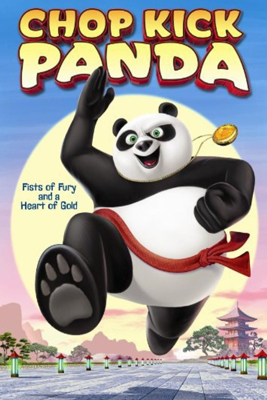 Chop Kick Panda Poster