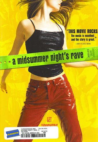 A Midsummer Night's Rave Poster