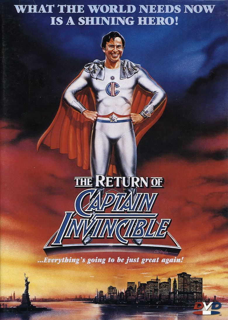 The Return of Captain Invincible Poster
