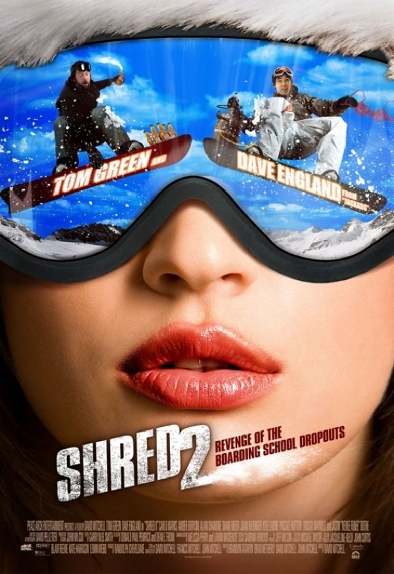 Shred II Poster
