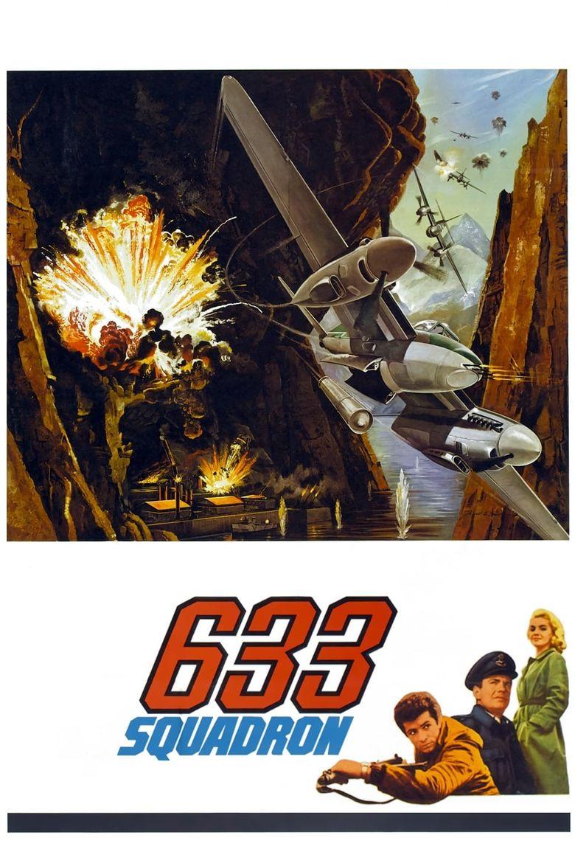 633 Squadron Poster