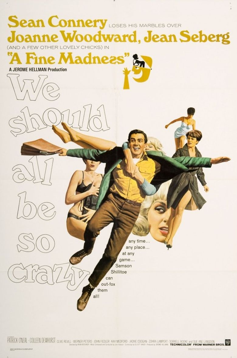 A Fine Madness Poster
