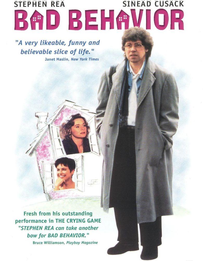 Bad Behaviour Poster