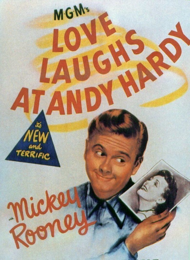 Love Laughs at Andy Hardy Poster