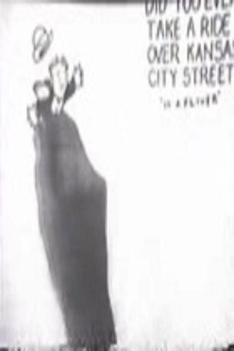 Did You Ever Take a Ride Over Kansas City Street 'In a Fliver' Poster