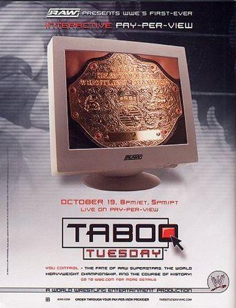 WWE Taboo Tuesday 2004 Poster