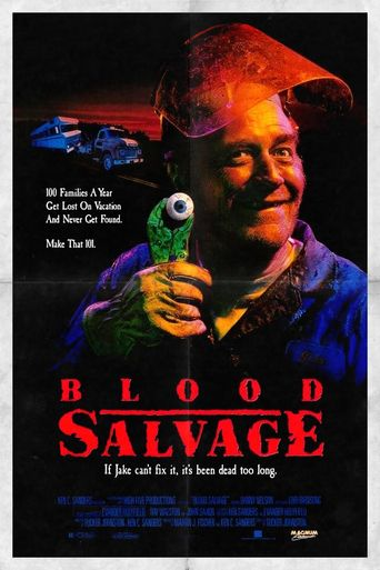 Blood Salvage Poster