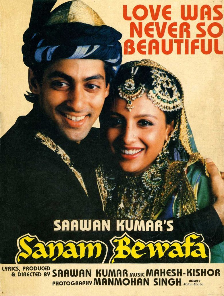 Sanam Bewafa Poster