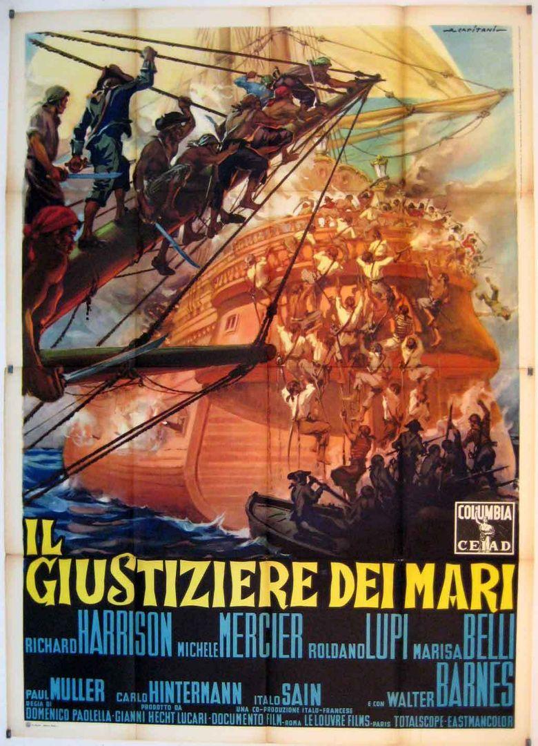 Avenger of the Seven Seas Poster