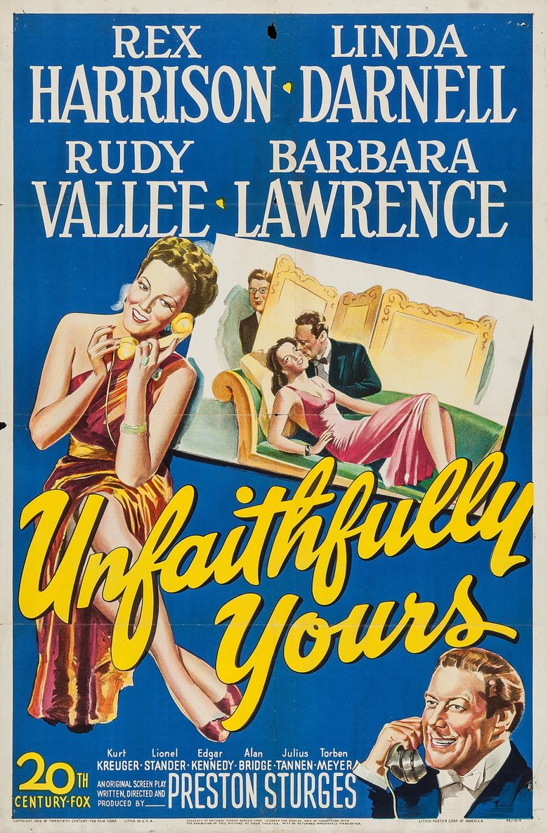 Unfaithfully Yours Poster
