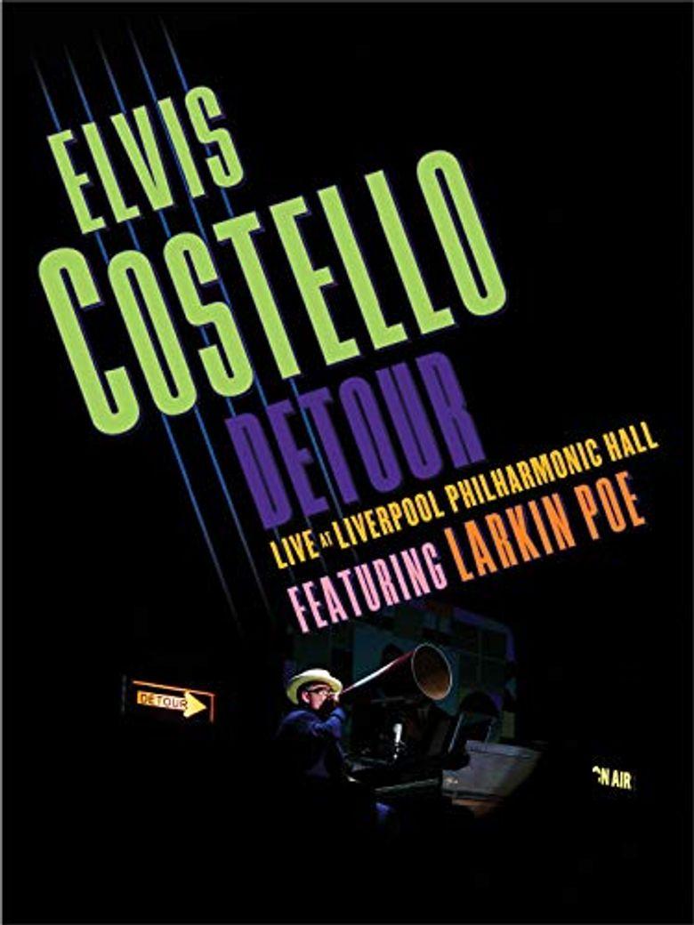 Elvis Costello: Detour Live at Liverpool Philharmonic Hall Poster