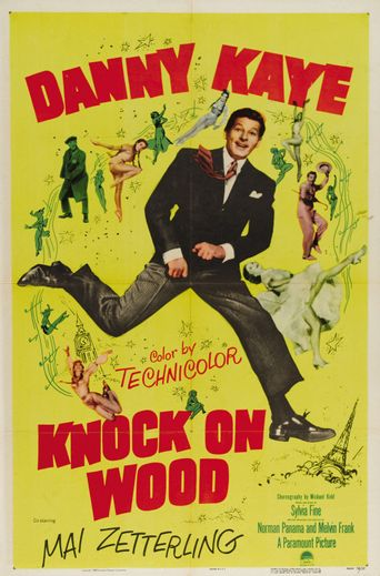 Knock On Wood Poster