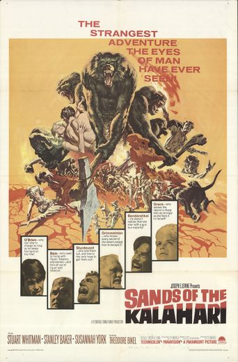 Sands of the Kalahari Poster