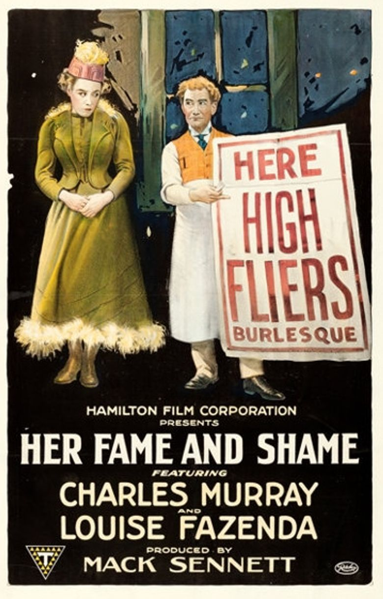 Her Fame and Shame Poster