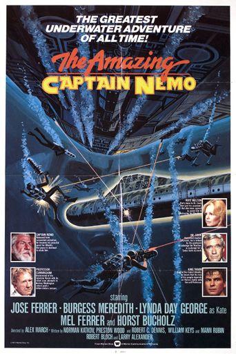 The Amazing Captain Nemo Poster