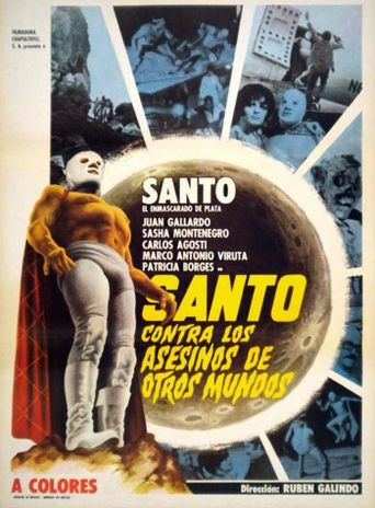 Santo vs. the Killers from Other Worlds Poster
