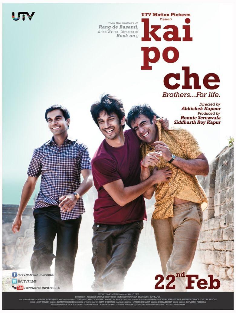 Kai Po Che! Poster