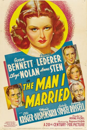 The Man I Married Poster