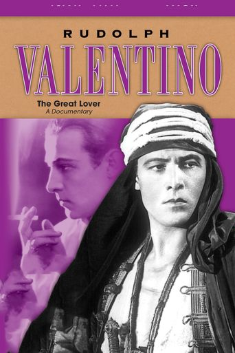 Rudolph Valentino: The Great Lover Poster
