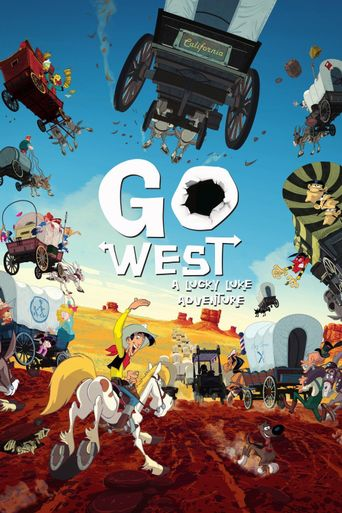 Go West: A Lucky Luke Adventure Poster