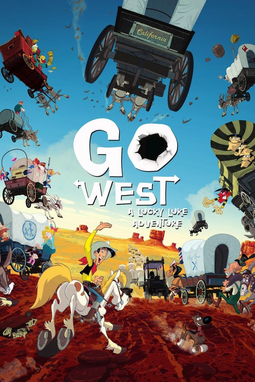 Go West: A Lucky Luke Adventure Poster