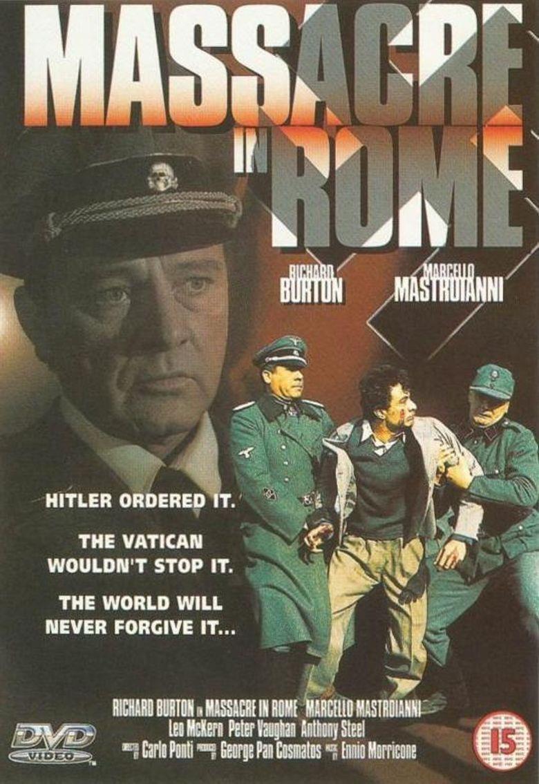Massacre in Rome Poster