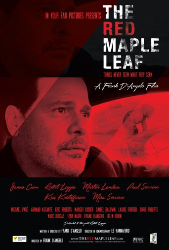 The Red Maple Leaf Poster