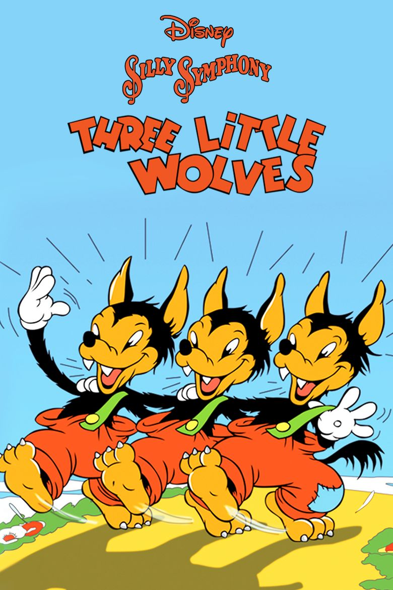 Three Little Wolves Poster